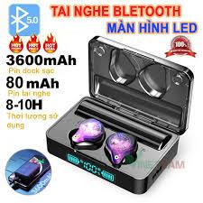 Tai nghe Bluetooth không dây TWS XS Plus v5.0 ✓Chống nước Ipx7 ✓Âm thanh 9d  ✓Chống ồn cao cấp ✓Pin trâu 3600mah -DC3953