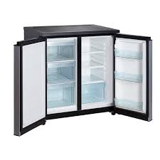 compact side by side refrigerator. Plain Side Side By 2 Door 55 Cu CompactMini Refrigerator With Freezer To Compact By F