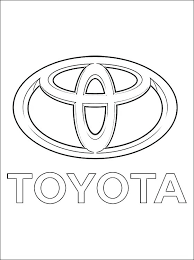Car Logo Coloring Pages