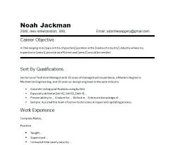 Marketing Resume Objectives Examples Resume Letter Directory