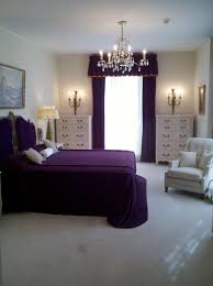 Astounding Decorating Ideas Purple Bedrooms Ideas Black Wooden Bookcases  Gray Cones Table Laminate Solid Wooden Floor Bed High Headboard Grey  Blanket Pink ...