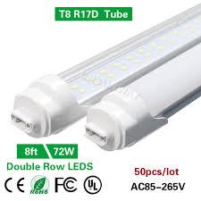 8ft Black Light Bulb Us 739 0 8ft T8 R17d Led Light Tube Bulb Double Row Dual End Power 2 4m 96 F96t10 T12 Ho Cw 72w Replace Cooler Fluorescent Bar Lamp In Led Bulbs