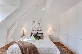 Collect this idea photo of small bedroom design and decorating idea -  simple loft