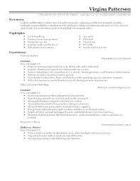 Retail Resume Description Retail Description For Resume Package Handler Resume Sample Retail