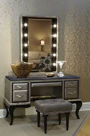 unique bedroom with sephora style lighted mirror vanity table unique bedroom with sephora style lighted mirror vanity table grey tufted bench furniture