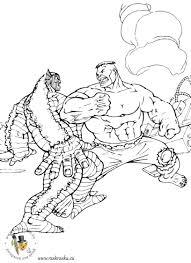 Dessin De Coloriage Hulk Imprimer Cp14305