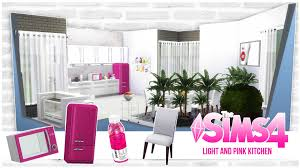 Light Pink Kitchen Light And Pink Kitchen Sims 4 Youtube