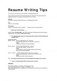 Effective Resume Format Fascinating 28 Effective Resume Writing Guidelines Best Professional Resume