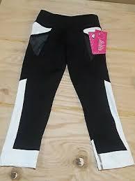 Yogalicious Size Chart Yogalicious Leggings Plus Size Capri Cropped Leggings Black