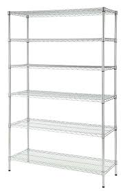 wire wall rack inch w 6 tier heavy duty wire shelving unit in chrome wire letter rack wall mounted