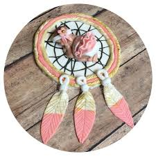 Dream Catcher Baby Shower Cake TRIBAL BABY SHOWER CAKE TOPPER Indian Feathers and ARROW Nursery 47