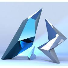 "jagged""  contemporary sculpture – public art  chester fields"