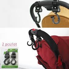<b>2pcs</b>/<b>Lot Baby Stroller Hook</b> Bag Handle Grab Prams Car ...
