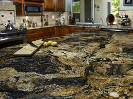 Granite Tile For Kitchen Countertops Granite Kitchen Countertop Hgtv