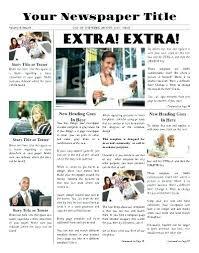 Retirement Newspaper Template