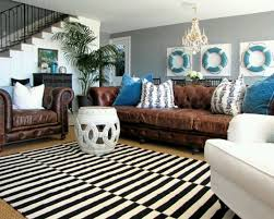 decorating with a brown sofa brown
