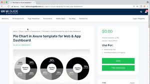 Axure Charts Pie Chart Axure Template For Web App Dashboard Axure Widgets Uxui Guide