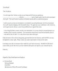 Sample Layoff Letter Temporary Layoff Letter Template