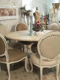 shabby chic round dining table painted cottage chic shabby french linen round dining table shabby