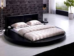 BedroomSweet Circular Beds Bed Frame Tos T Blk Q Handsome Cool Round Beds  Design Ideas For