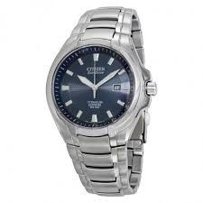 citizen eco drive blue dial titanium men s watch bm7170 53l eco citizen eco drive blue dial titanium men s watch bm7170 53l
