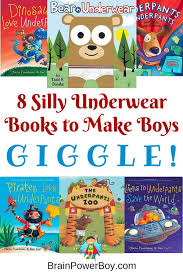best books for boys silly underwear books reading time underwear and books