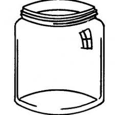 Small Picture Mason Jar Coloring Sheet