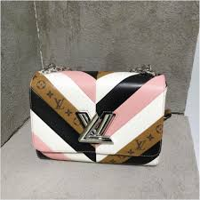 louis vuitton bags 2017 black. louis vuitton white/pink/black and monogram reverse twist bag - pre-fall bags 2017 black
