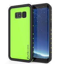 Samsung Galaxy S8 Green Light Galaxy S8 Plus Waterproof Case Punkcase Studstar Light Green