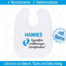 Witzige Baby Sprüche Lätzchen Name Geschenk Spruch Babylätzchen