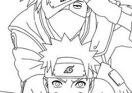 Small Picture Naruto Coloring Pages Coloring4Freecom