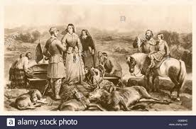 Royal Blood Sports: Queen Victoria and Prince Albert stag hunting ...