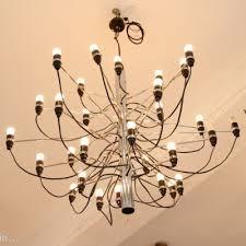 2097 30 hanging lamp by gino sarfatti for arteluce 1950s