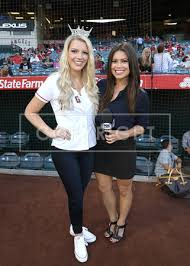 Doug Hikawa Productions | 20170821 - Jillian Smith - L.A. Angels 1st Pitch  | Jillian Smith (Miss CA 2017), Alex Curry (Fox Sports)