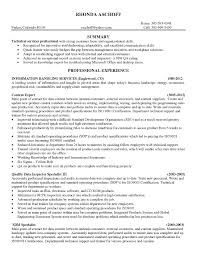 Resume Sample For Quality Assurance Technician New Quality Assurance ...