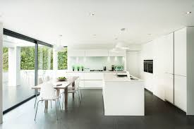 best paint for home interior. Kitchen And Dining Space In Modern Style Decorated With White Best Interior Paint Ideas Using Glass For Home