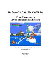 The Legend Of Zelda The Wind Waker From Douglas Wilson
