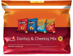 doritos tortilla chips cheetos cheese flavored snacks mix variety pack