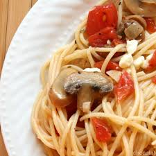 simple olive oil pasta homemade in