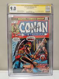 Conan the Barbarian #23 CGC 9.0 Signature Series Signed by Roy Thomas –  Torpedo Comics
