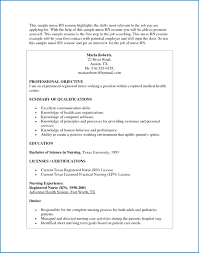 Sample Nursing Resume Unique The Proper Nursing Resume Objective