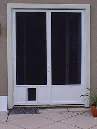 Doors: astonishing dog doors for french doors Patio Door With ...