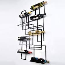 wall mounted metal wine rack. Rustic Design Wall Mount Wine Racks Metal Bottle Holder Storage Home Bar Display Mounted Rack