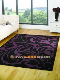 element warwick black purple 60cm x 110cm