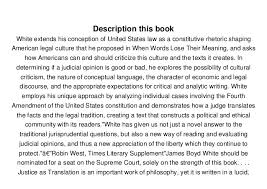 justice as translation an essay in cultural and legal criti   justice as translation an essay in cultural and legal criticism james boyd white pdf online