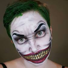 Easy Halloween Face Painting Designs Joker Face Paint Joker Face Paint Batman Face Paint Face
