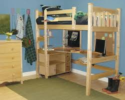 diy project how to make a loft bed for your dorm room home jelly