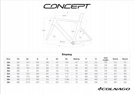 Colnago Concept Framekit Njbk Complete Bicycles Accessories And Servicing Hup Leong Company Online