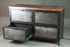 industrial style file cabinet. Industrial Style Storage Cabinet With File Drawers Intended