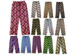 Character Pants Details About Mens Character Lounge Pants Pyjamas Pj Bottoms Trousers Cartoon Size Uk S Xl